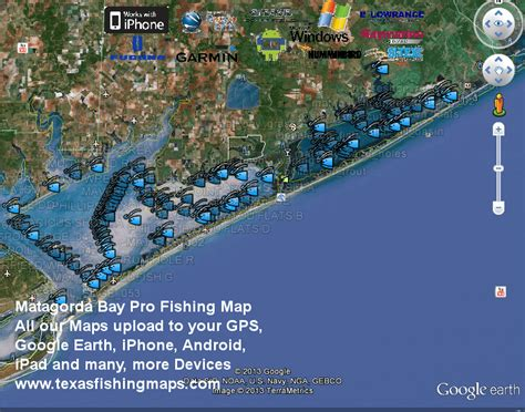 fishing maps texas matagorda bay fishing maps texas fishing maps and fishing spotstexas fishing maps and fishing