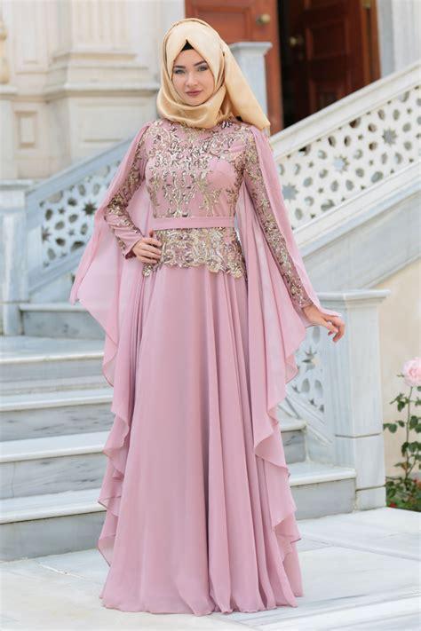 Baju Muslim Untuk Pesta Mewah Berbagai Pilihan Model Gaun Pesta Mewah Wanita Berhijab