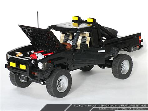 bob richard toyota immensely detailed lego toyota hilux