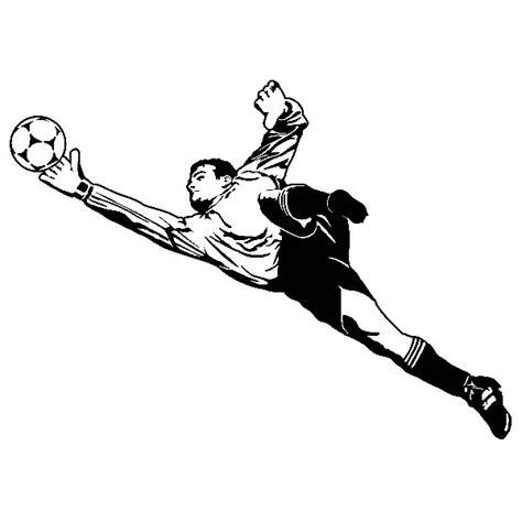 Stiker Suporter Bola soccer goalkeeper