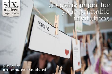 How to Choose the Best Paper for Your Printable Wedding