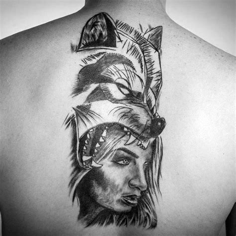 sick tattoo designs for guys 60 sick wolf designs for manly ink ideas