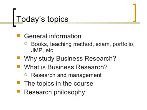 Business Research Methods Notes Mba by Business Research Methods 01 A12