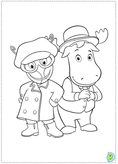 nick jr backyardigans coloring pages backyardigans nick jr coloring pages