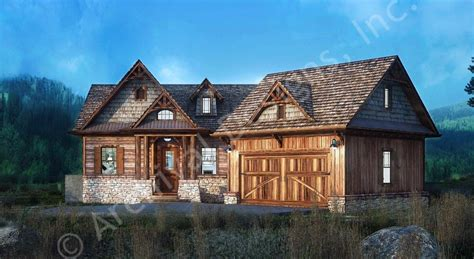 Rustic House Plans With Finished Basement Pertaining To