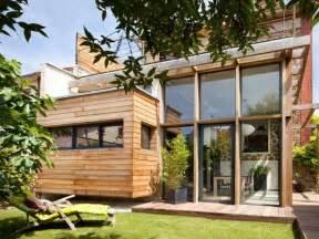 cr 233 er une extension en bois maison bois nord