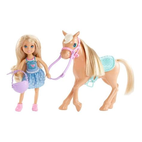 Barbie Chelsea Doll & Pony Playset : Target