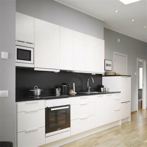 graue und weiße küchen k 252 che wei 223 grau
