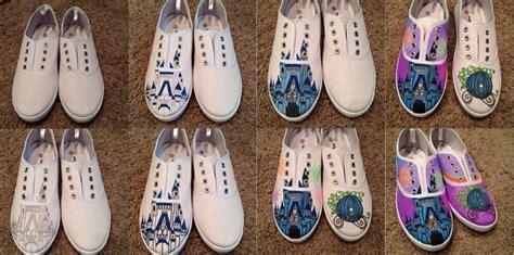 diy cinderella shoes diy disney cinderella shoes done with fabric markers