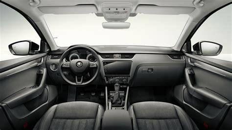 Interior Design Black by 2017 Skoda Octavia Facelift Interior Cabin Detailed