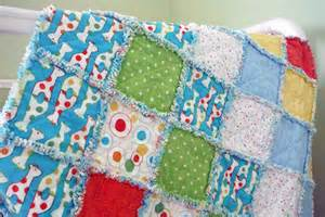 how to make rag baby quilts with pictures ehow
