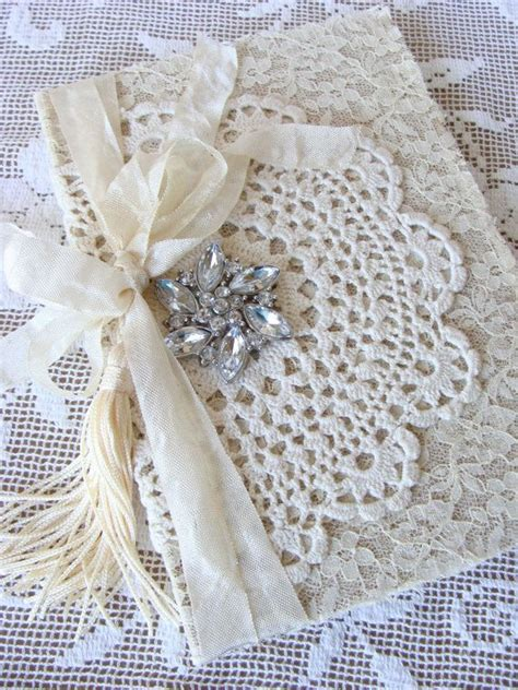 Wedding Journal by 373 Best Images About Lace Books On Fabric