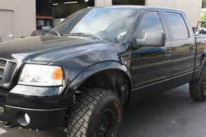 2004 to 2008 ford f 150 to raptor front fenders 4 flare 2