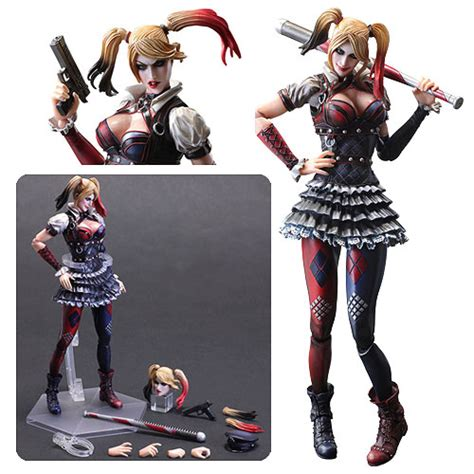 figure harley quinn batman arkham harley quinn play arts figure