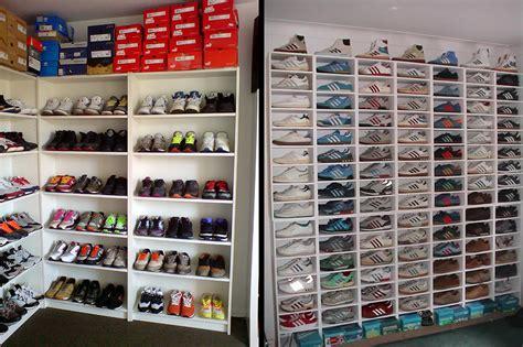 Schuhe Aufbewahren Wenig Platz by Sneaker Aufbewahrung