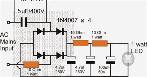 5 watt led driver circuit diagram 5 watt led driver circuit diagram