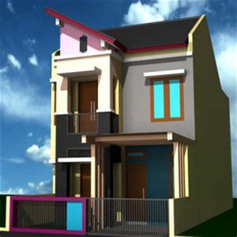 5 desain rumah minimalis 2 lantai ukuran 6x9 terbaru 2017