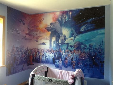 wars wall murals wallpaper 26 nerdy home designs for serious geeks