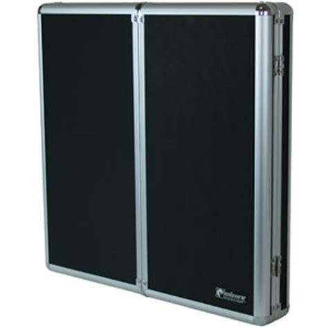 teknik aluminium dartboard cabinet drinkstuff
