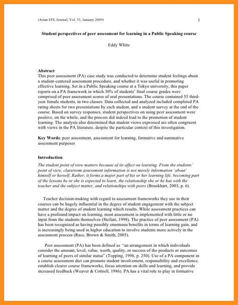 Exle Of Evaluation Essay by Exle Evaluation Essay Toreto Co