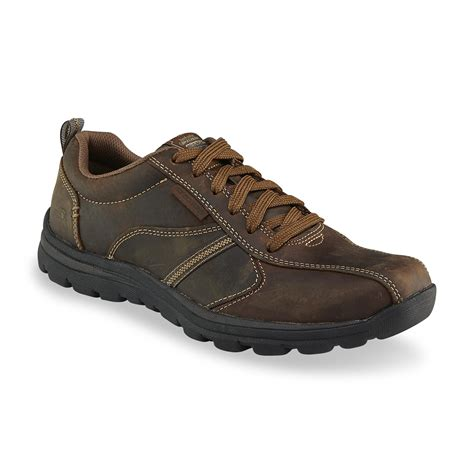 skechers s levoy relaxed fit levoy leather oxford