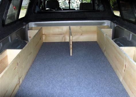 truck bed sleeping platform truck bed sleeping platform travel vehicles pinterest