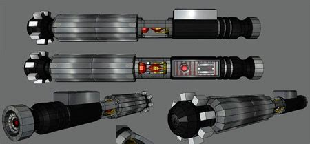 Wars Lightsaber Papercraft - wars lightsaber papercraft the sith persuader