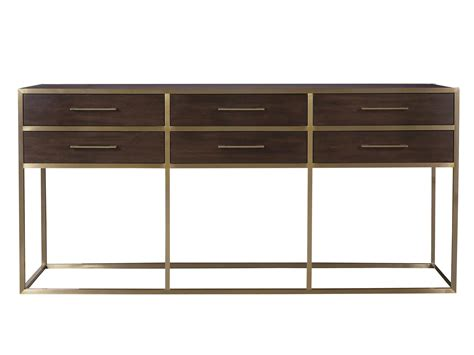 universal furniture modern gibson console