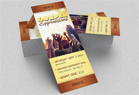 event ticket design template 21 event ticket mockups free premium templates
