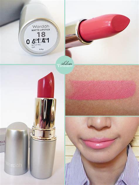 Lipstik Wardah Matte No 18 wardah matte lipstick rosy pink silver treasure