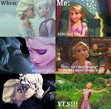 film elsa vs rapunzel if jack seriously is going to be in frozen 2 though i