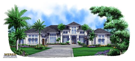 caribbean style house plans caribbean breeze british west indies house plan weber design group