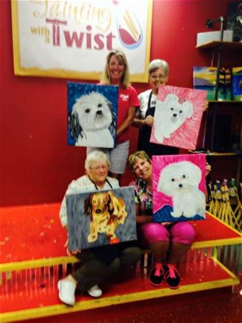 painting with a twist lansing paint your pet birthday picture of painting with a twist bradenton