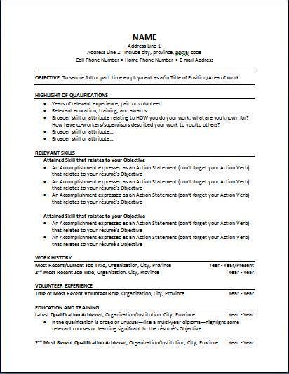 the best resume format 2014 resume format 2014 tomyumtumweb