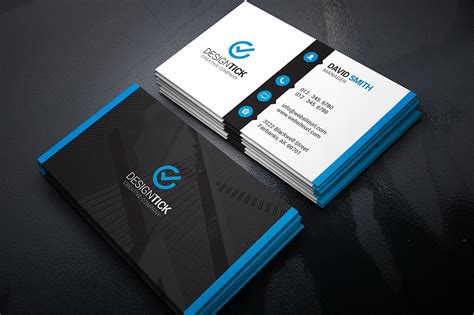 Cool Business Card Design Templates by Cool Business Card Templates 4 Dummies Org