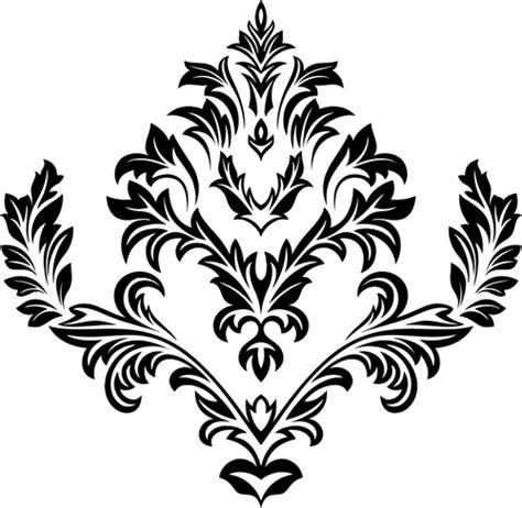 flores ornamentales vectores de dominio publico