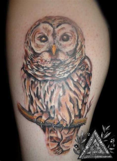 owl tattoo gang realistic snowy owl tattoo