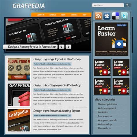 tutorial on website creation 20 high quality photoshop web design tutorials web