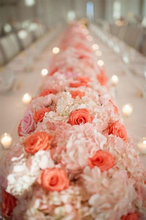 25  best ideas about Coral wedding centerpieces on