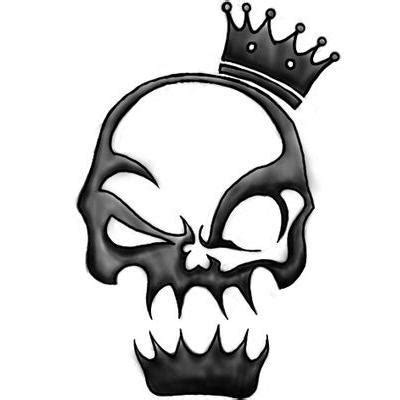 tribal crown tattoo 40 tribal skull tattoos ideas