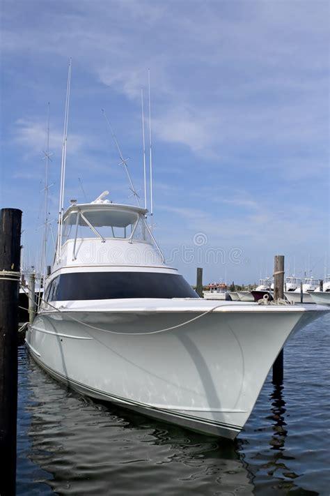 luxury deep sea fishing boat royalty free stock - Luxury Deep Sea Fishing Boat