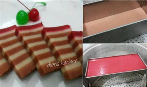 Kue Lapis Santan resep membuat kue lapis kukus legit tanpa santan resep dapur praktis