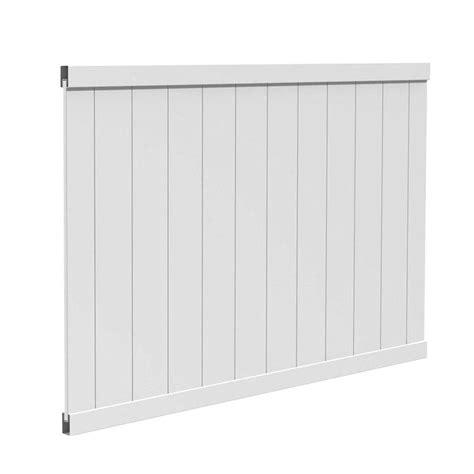 veranda estate 4 ft h x 6 ft w vinyl fence panel