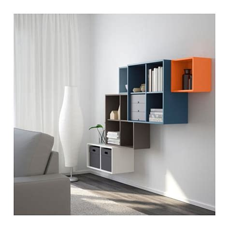 etagere 40x40 eket wall mounted cabinet combination multicolour