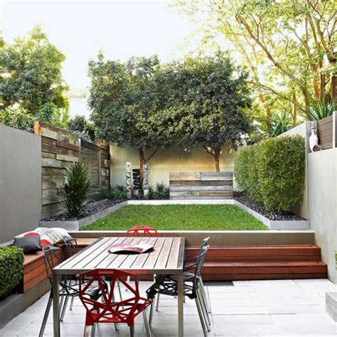 modern garden pictures house to home