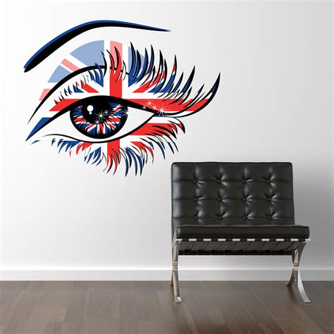 eye wall stickers wallstickers folies eye wall stickers