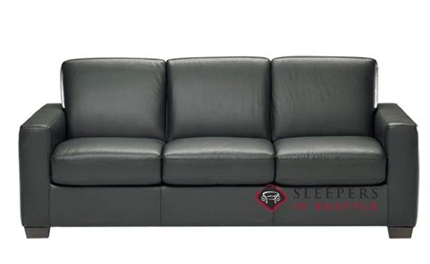 natuzzi leather sleeper sofa customize and personalize rubicon b534 queen leather