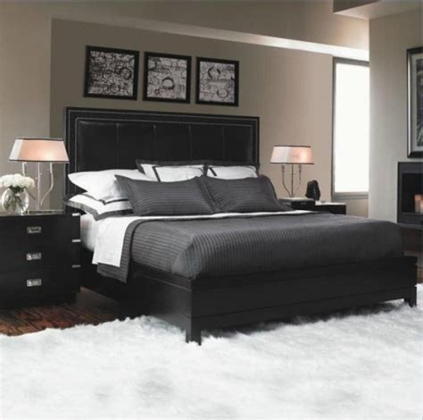 decorate  bedroom  black furniture  steps  edgy space home improvement day