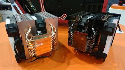 Id Cooling Se 214l W Cpu Cooler White Led id cooling reveal chassis and coolers at computex