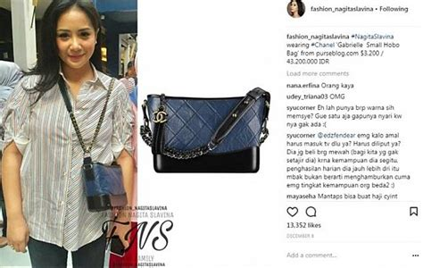 Harga Tas Chanel Istri Jokowi mungil tas chanel seperti yang dikenakan nagita slavina